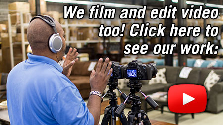 Click to view our video work