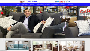 This well-known furniture store needed a website where they could manage their inventory online and we came through for them! We also film their television commercials.