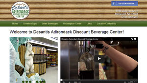 This new beverage center not only stocks almost 300 craft beers, but also has 27 different beers on tap every day. They needed to be able to update their website so that people would know what's on tap without calling.